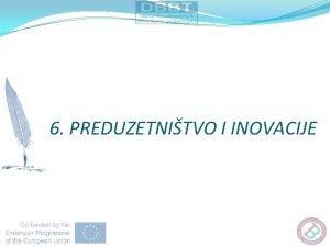 6 PREDUZETNITVO I INOVACIJE 6 1 USPEAN PREDUZETNIK