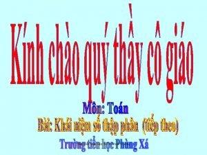Gio vin thc hin Th Hoi Thng Kim