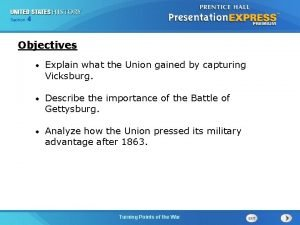 Chapter Section 4 25 Section 1 Objectives Explain