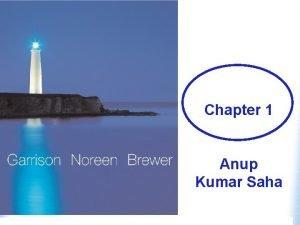 Anup Kumar Saha Chapter 1 Anup Kumar Saha