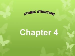 Chapter 4 Isotopes Atoms of the same element
