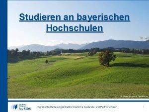 Studieren an bayerischen Hochschulen Alfred Borchard pixelio de