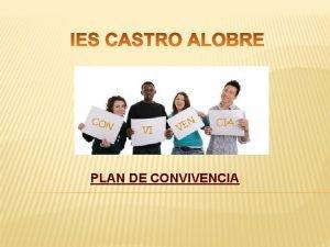 PLAN DE CONVIVENCIA PLAN DE CONVIVENCIA IES CASTRO