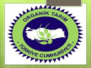 Organik Hayvanclk ve Hayvansal retim Organik hayvanclk ve