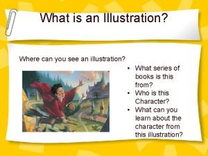 What is an Illustration Where can you see