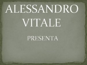 ALESSANDRO VITALE PRESENTA I PEUCETI La Peucetia corrisponde