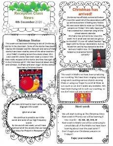 Christmas has arrived Reception Class News Christmas has