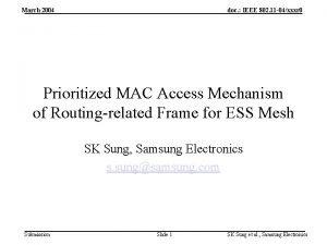 March 2004 doc IEEE 802 11 04xxxr 0