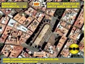 BARCELONA MONUMENTAL 12 CATEDRAL BASLICA DE SANTA MARA