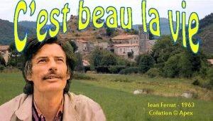 Jean Ferrat 1963 Cration Apex Le vent dans
