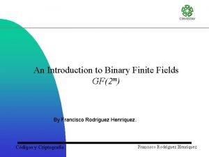 An Introduction to Binary Finite Fields GF2 m