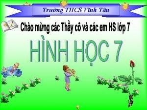 Trng THCS Bng Vnh Tn Trng Tu Kim