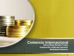 Comercio Nancy Internacional Elena Romero Freyle Corporacin Unificada