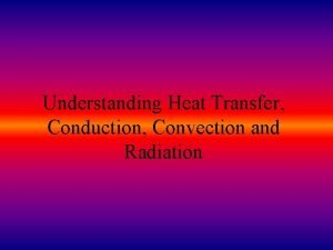 Understanding Heat Transfer Conduction Convection and Radiation How