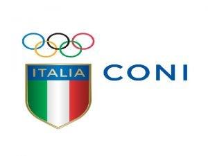 Il CONI Comitato Olimpico Nazionale Italiano unorganizzazione nata