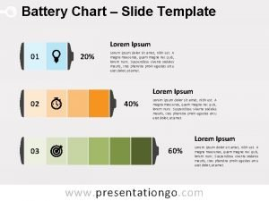 Battery Chart Slide Template Lorem Ipsum 01 20