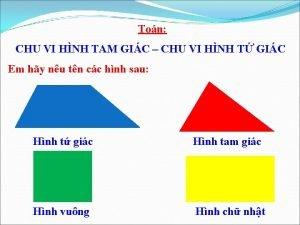 Ton CHU VI HNH TAM GIC CHU VI