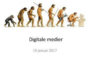 Digitale medier 19 januar 2017 Agenda Apper VIPPS