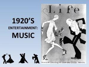 1920S ENTERTAINMENT MUSIC JAZZ BABY JAZZ The Jazz