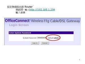 DOS 1 ping www abc com 2 ipconfig