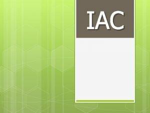 IAC Objetivos Definir Qu es una onda y