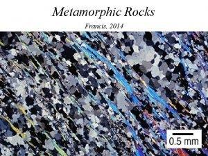 Metamorphic Rocks Francis 2014 Metamorphic Minerals andalusite AFM