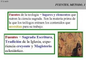 IT 21 de 50 FUENTES METODO 1 Fuentes