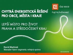 CHYTR ENERGETICK EEN PRO OBCE MSTA I KRAJE