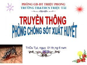 PHNG GDT TRIU PHONG TRNG THTHCS TRIU TI