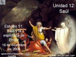 Unidad 12 Sal Estudio 51 Sal y la