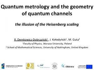 Quantum metrology and the geometry of quantum channels