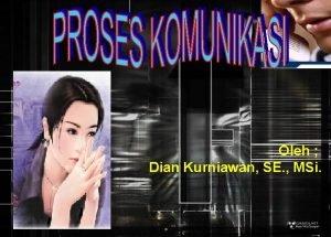 Oleh Dian Kurniawan SE MSi MAKNA DAN PENGERTIAN