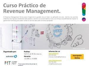 Curso Prctico de Revenue Management El Revenue Management
