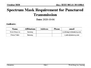 October 2020 doc IEEE 802 11 201180 r