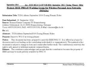 September 2014 doc IEEE 802 15 14 0575