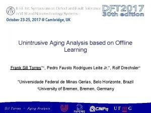 Unintrusive Aging Analysis based on Offline Learning Frank