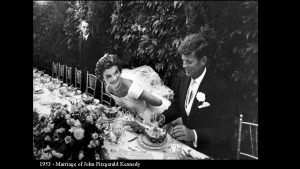 1953 Marriage of John Fitzgerald Kennedy 1953 Marriage
