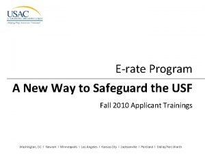 Erate Program A New Way to Safeguard the