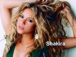 Shakira Obsah vod Dtstv Potky kariry Prvn album