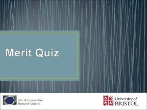 Merit Quiz What is the Pali for merit