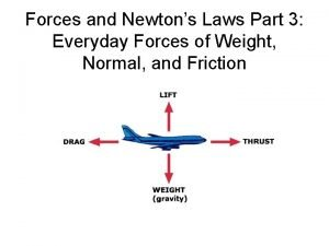Forces and Newtons Laws Part 3 Everyday Forces