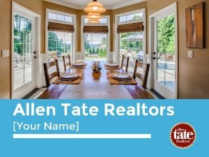 Allen Tate Realtors Your Name Upload Photo place