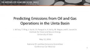 Predicting Emissions from Oil and Gas Operations in