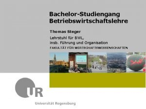 Prof Dr Max Mustermann Lehrstuhl fr XYZ Referat