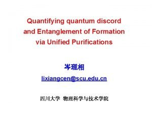 Quantifying quantum discord and Entanglement of Formation via