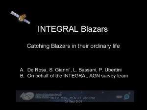INTEGRAL Blazars Catching Blazars in their ordinary life
