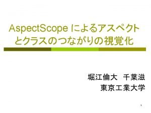 p Aspect J Graphics draw Logger log aspect