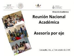 Direccin Acadmica Reunin Nacional Acadmica Asesora por eje