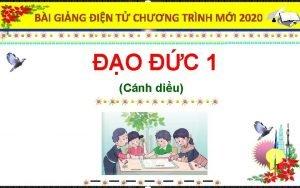 BI GING IN T CHNG TRNH MI 2020