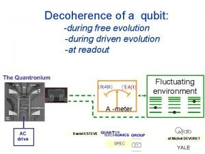 Decoherence of a qubit during free evolution during